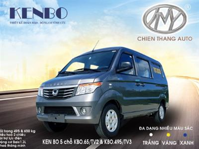 Xe ô tô van kenbo 5 chỗ, xe ô tô tải kenbo