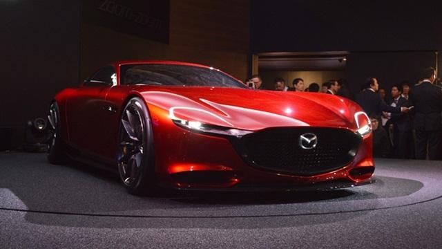 Mazda đang nghiên cứu động cơ xoay dùng nhiên liệu hydro