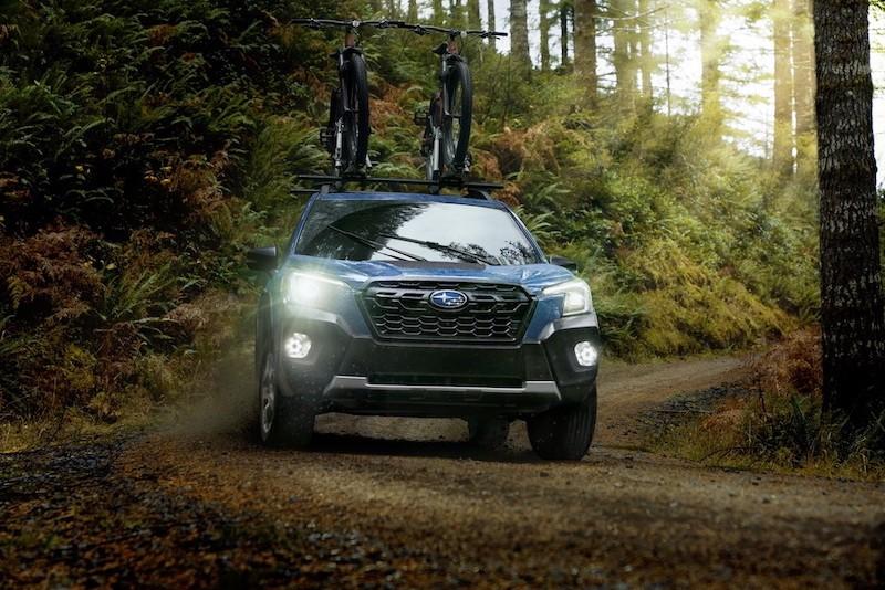 SUV hạng C Subaru Forester Wilderness 2022 lộ diện, dành riêng cho những tín đồ mê off-road