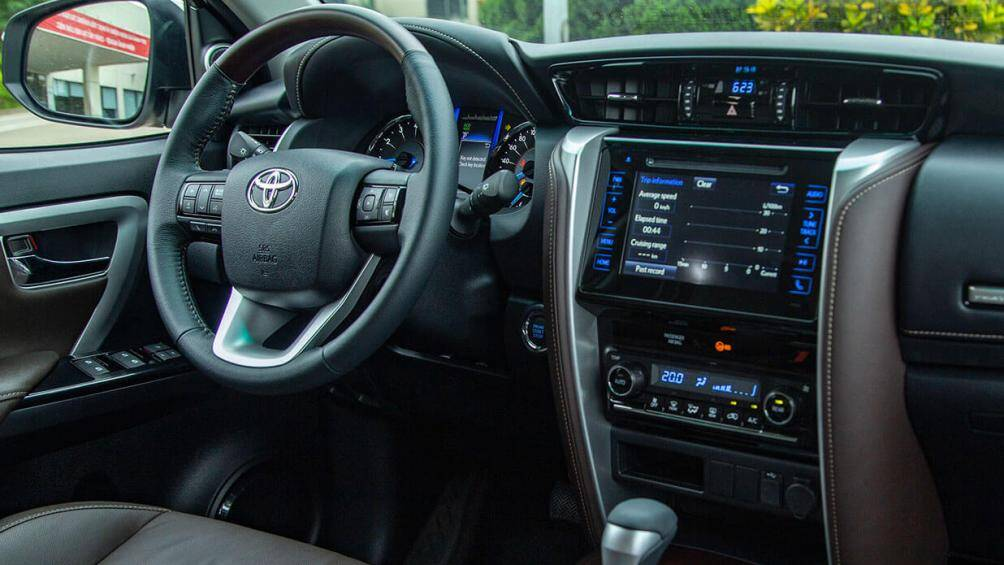 Sự khác nhau giữa 6 phiên bản Toyota Fortuner
