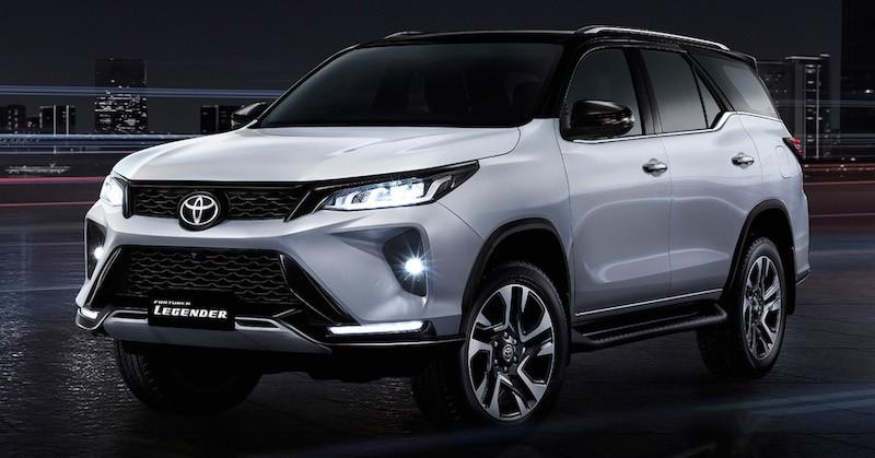 Toyota Fortuner 2021 phiên bản Legender